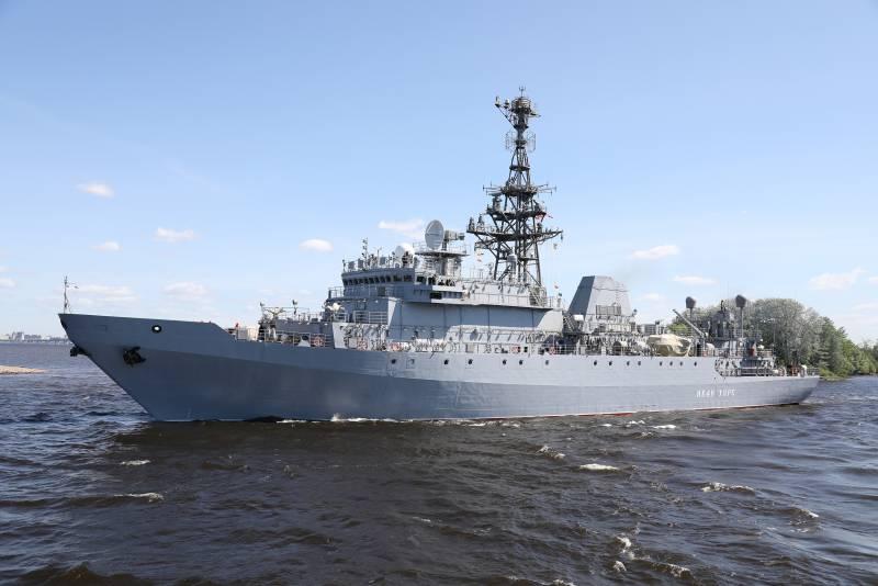 Возможности разведывательного корабля «Иван Хурс»: решение спецзадач